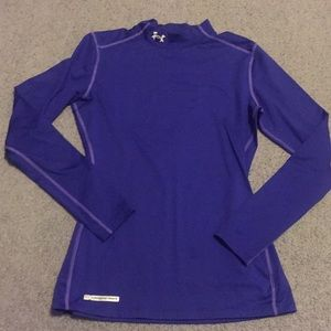 Under armour fitted blouse